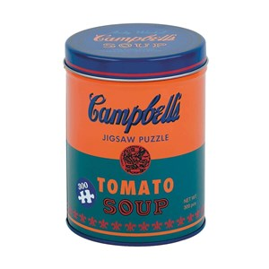 """Chronicle Books / Galison (9780735353879) - Andy Warhol: """"Campbell's Soup Can Orange"""" - 300 piezas"""