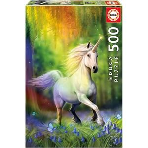 """Educa (18448) - Anne Stokes: """"Chase The Rainbow"""" - 500 piezas"""