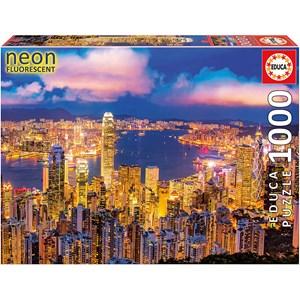 """Educa (18462) - """"Hong Kong Skyline"""" - 1000 piezas"""