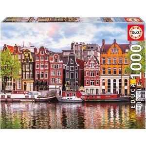 "Educa (18458) - ""Dancing house, Amsterdam"" - 1000 piezas"