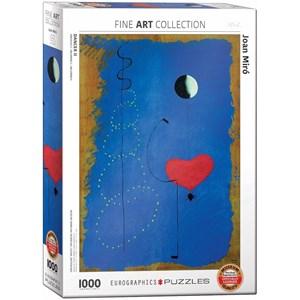"""Eurographics (6000-0854) - Joan Miro: """"Dancer II"""" - 1000 piezas"""