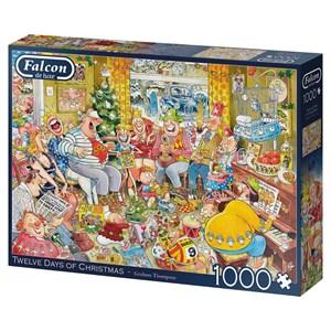"Falcon (11279) - Graham Thompson: ""Twelve Days of Christmas"" - 1000 piezas"