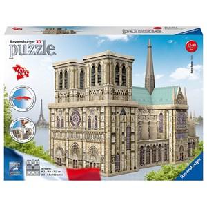 """Ravensburger (12523) - """"Notre Dame, France"""" - 324 piezas"""