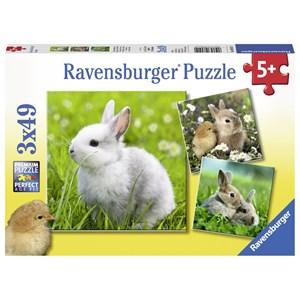 """Ravensburger (08041) - """"Cute Bunny"""" - 49 piezas"""