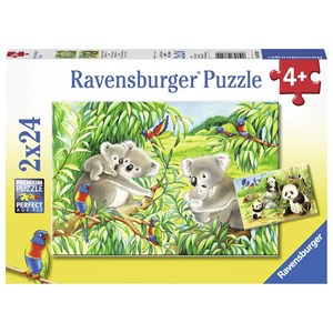 "Ravensburger (07820) - ""Cute Koalas and Pandas"" - 24 piezas"