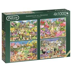 "Falcon (11235) - Claire Comerford: ""Gardens of All Seasons"" - 1000 piezas"