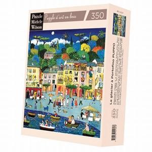 """Puzzle Michele Wilson (A737-350) - Alessandra Puppo: """"Portofino"""" - 350 piezas"""