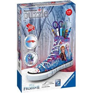 """Ravensburger (12121) - """"Sneaker, Frozen II"""" - 108 piezas"""