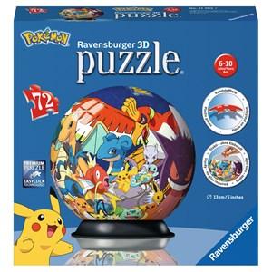 """Ravensburger (11785) - """"Pokemon"""" - 72 piezas"""