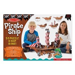 """Melissa and Doug (9045) - """"Pirate Ship"""" - 100 piezas"""
