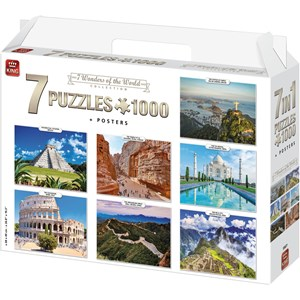 "King International (55877) - ""7 Wonders of The World"" - 1000 piezas"