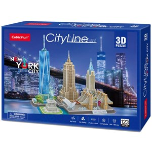 "Cubic Fun (MC255h) - ""New York"" - 123 piezas"