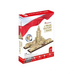 """Cubic Fun (MC224H) - """"Palace of Culture and Science"""" - 144 piezas"""