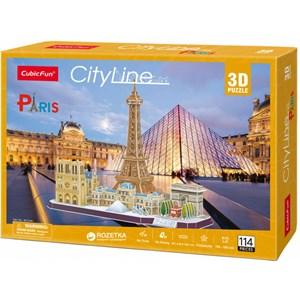 "Cubic Fun (MC254h) - ""Paris"" - 114 piezas"