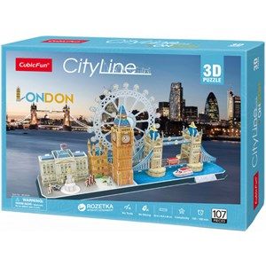 "Cubic Fun (MC253h) - ""London"" - 107 piezas"
