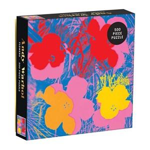 "Chronicle Books / Galison (9780735357839) - Andy Warhol: ""Flowers"" - 500 piezas"