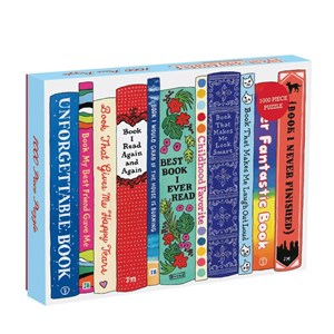 "Chronicle Books / Galison (9780735348806) - ""Ideal Bookshelf, Universals"" - 1000 piezas"