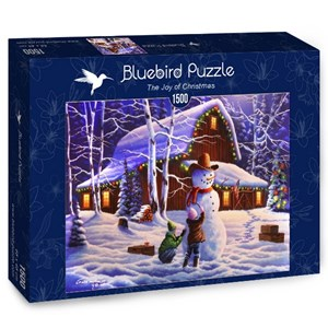 "Bluebird Puzzle (70098) - ""The Joy of Christmas"" - 1500 piezas"