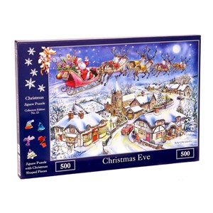 """The House of Puzzles (4494) - Ray Cresswell: """"No.13, Christmas Eve"""" - 500 piezas"""