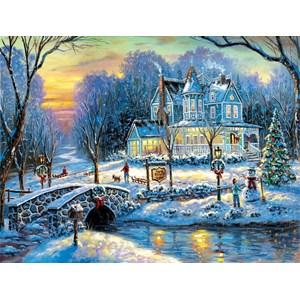 """SunsOut (60760) - Robert Finale: """"A White Christmas"""" - 1000 piezas"""
