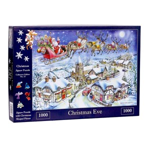 """The House of Puzzles (4487) - Ray Cresswell: """"No.13, Christmas Eve"""" - 1000 piezas"""