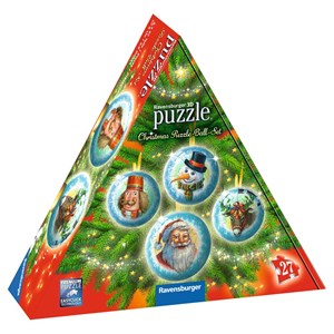 "Ravensburger (11678) - ""Christmas Puzzle-Ball-Set"" - 27 piezas"