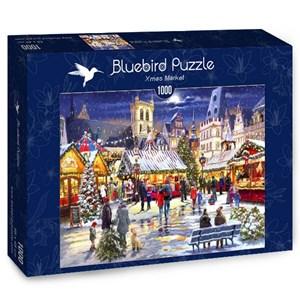 "Bluebird Puzzle (70070) - Richard Macneil: ""Xmas Market"" - 1000 piezas"