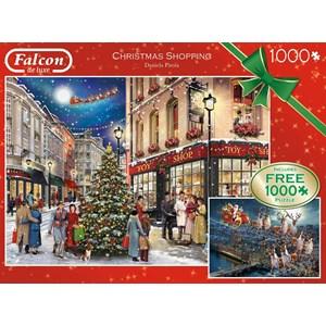 "Falcon (11225) - Daniela Pirola: ""Christmas Shopping"" - 100 piezas"