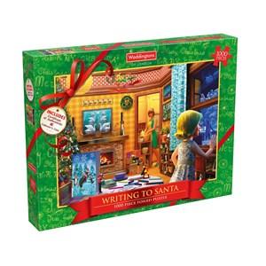 """Waddingtons (5036905001861) - """"Writing To Santa"""" - 1000 piezas"""