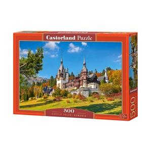"Castorland (B-53292) - ""Castle Peles, Romania"" - 500 piezas"