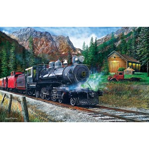 """SunsOut (55743) - Kevin Daniel: """"The Leinad Express"""" - 1000 piezas"""