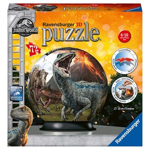 "Ravensburger (11757) - ""Jurassic World"" - 72 piezas"