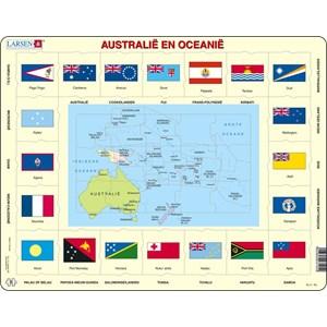 "Larsen (KL5-NL) - ""Australia and Oceania - NL"" - 35 piezas"