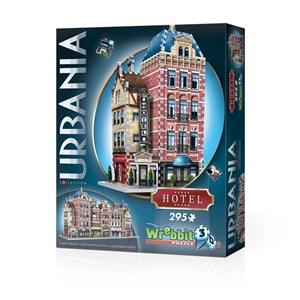 "Wrebbit (Wrebbit-Set-Urbania-2) - ""Urbania Collection, Café, Cinema, Hotel, Fire Station"" - 1165 piezas"