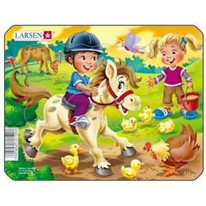 """Larsen (Z11-3) - """"Horse"""" - 9 piezas"""