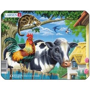 """Larsen (M5-2) - """"Farm Animals"""" - 7 piezas"""
