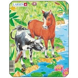 """Larsen (M1-2) - """"Cute Animals"""" - 10 piezas"""