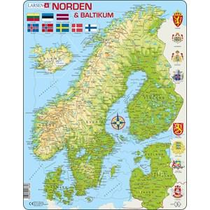 """Larsen (K3) - """"The Nordics and the Baltics"""" - 75 piezas"""