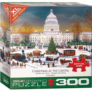"Eurographics (8300-5403) - ""Christmas at the Capitol"" - 300 piezas"