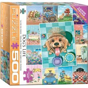 "Eurographics (8500-5365) - Gary Patterson: ""Dog's Life"" - 500 piezas"