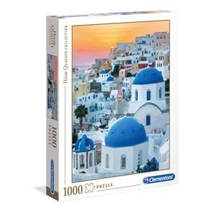 """Clementoni (39480) - """"Santorini"""" - 1000 piezas"""