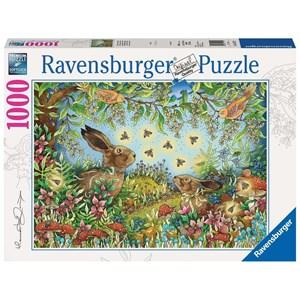 """Ravensburger (15172) - """"Nocturnal Forest Magic"""" - 1000 piezas"""