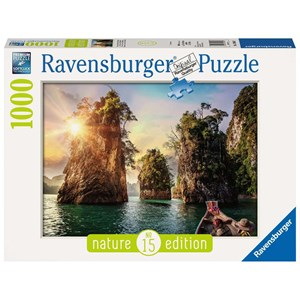 "Ravensburger (13968) - ""Three rocks in Cheow, Thailand"" - 1000 piezas"