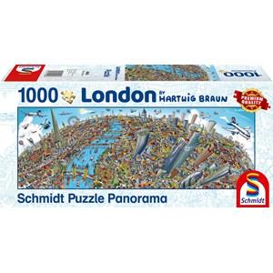 "Schmidt Spiele (59596) - Hartwig Braun: ""London Cityscape"" - 1000 piezas"