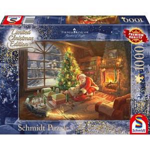 "Schmidt Spiele (59495) - Thomas Kinkade: ""Santa's Special Delivery"" - 1000 piezas"