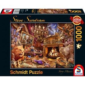 "Schmidt Spiele (59661) - Steve Sundram: ""Story Mania"" - 1000 piezas"