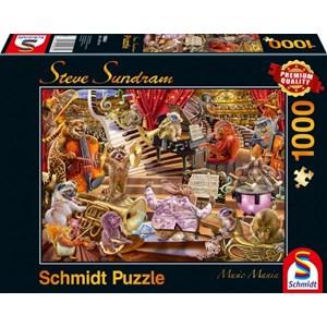 """Schmidt Spiele (59664) - Steve Sundram: """"Music Mania"""" - 1000 piezas"""