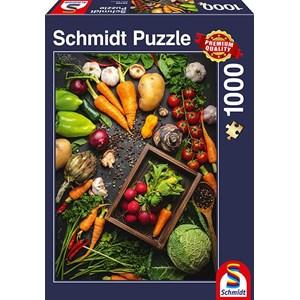 """Schmidt Spiele (58398) - """"Superfood"""" - 1000 piezas"""
