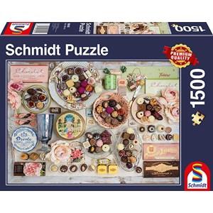 "Schmidt Spiele (58940) - ""Chocolate Nostalgia"" - 1500 piezas"