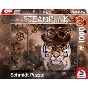 """Schmidt Spiele (59646) - Markus Binz: """"Steampunk Tiger"""" - 1000 piezas"""